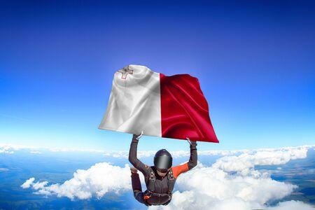 Malta flag travel.