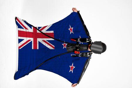 New Zealand extreme travel. Zdjęcie Seryjne