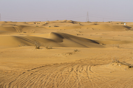 Desert in Dubai, UAE