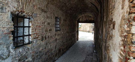 Tunnel in the Royal Walls of Ceuta