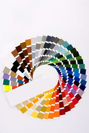colour chart: Color sample for designers use