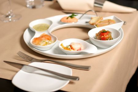 entree: Starter or Entree of a french dish