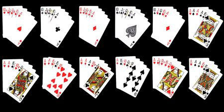 Possible Combinations from Cards, Basic Information on the Different Poker Hands