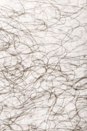 texture of hand-made paper with fabric wire photo