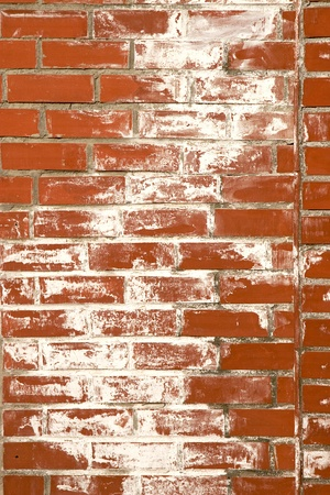 texture of old, vintage red brick wall Stock Photo - 8392041