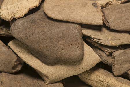 polished wood: sfondo del vecchio levigato legno di mare, primo piano