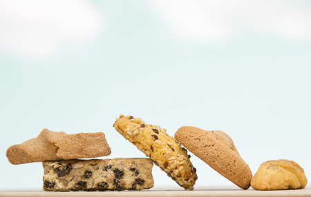Chocolate Chip Cookies and Biscotti, Baked Goods photo