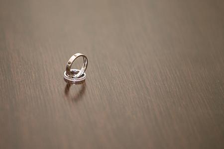 forever: wedding rings, forever love concept