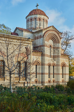 Church of St. John the Baptist in Kerch. Stock Photo