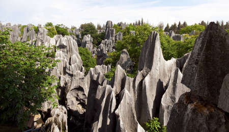 kunming: The Stone Forest near the city of Kunming, Yunnan Province, China