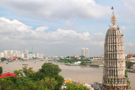 wat arun: Wat Arun, Bangkok, Thailand. Stock Photo