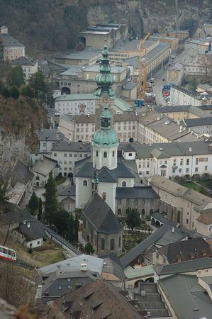 mozart: Salzburg, Austria. The town where Mozart was born.
