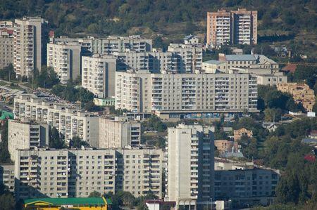 panorama of modern city Stock Photo - 434669