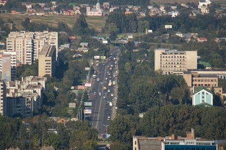 panorama of modern city Stock Photo - 434665