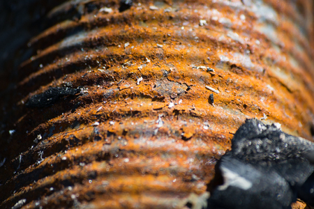 Rusty metal texture can be used as background Stock Photo