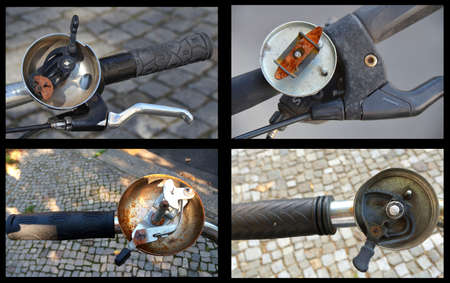 Custom bicycles, tuned, in the city of munich, Germany Archivio Fotografico