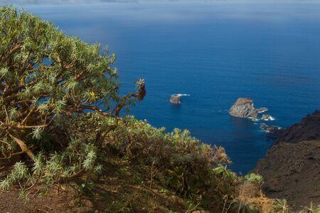 Salmor Rocks. Integral Natural Reserve of Salmor Rocks. El Hierro. Canary Islands. Spain.
