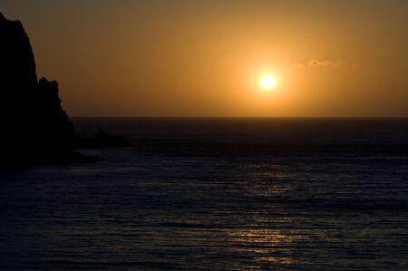 Dawn. Punta de La Bonanza. Valverde. El Hierro. Canary Islands. Spain.