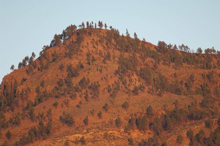 Mountain in the Integral Natural Reserve of Inagua. Tejeda. Gran Canaria. Canary Islands. Spain.