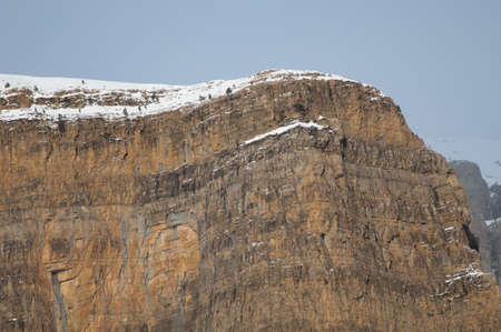 Cliff in Ordesa and Monte Perdido National Park.