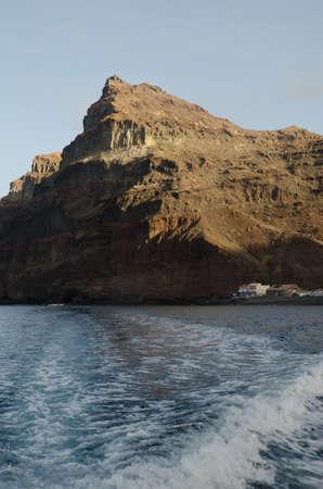 Seascape in Tasartico and Special Natural Reserve of Gui Gui. Aldea de San Nicolas de Tolentino. Gran Canaria. Canary Islands. Spain. Foto de archivo