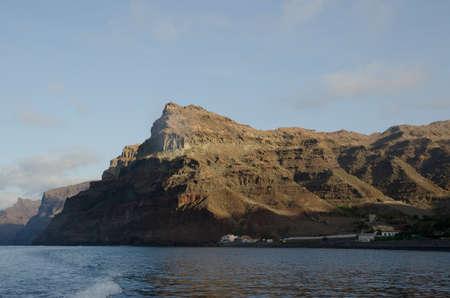 Tasartico ravine and Special Natural Reserve of Gui Gui. Aldea de San Nicolas de Tolentino. Gran Canaria. Canary Islands. Spain.