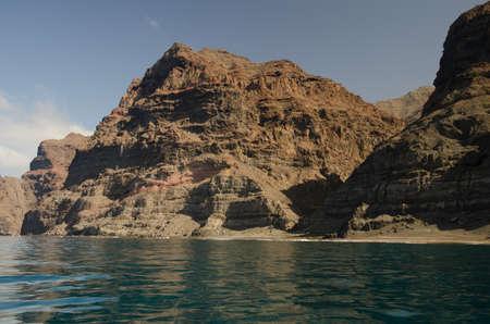 Gui Gui beach in the Special Natural Reserve of Gui Gui. Aldea de San Nicolas de Tolentino. Gran Canaria. Canary Islands. Spain. Foto de archivo