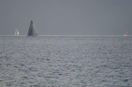 Transatlantic race from the island of Gran Canaria. Arinaga. Aguimes. Gran Canaria. Canary Islands. Spain.