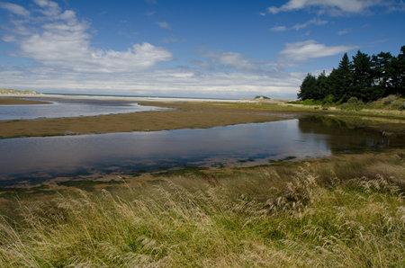 Kaikorai Lagoon in Otago. South Island. New Zealand.