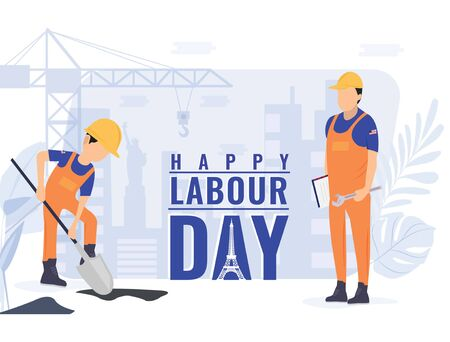 The exact background for the labor day Reklamní fotografie - 128949425
