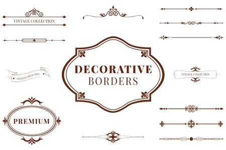 Les bordures décoratives les plus belles et les plus ethniques