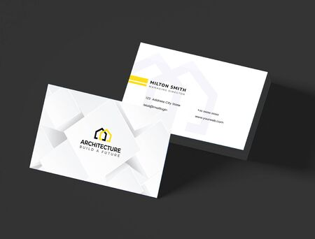 The effective architecture business cards