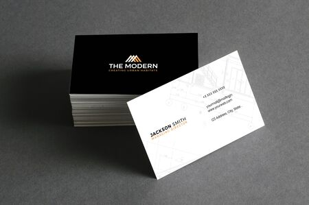 The Royal corporate business card Ilustracja