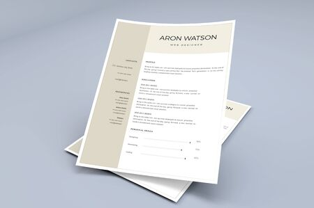 The perfect template for the resume where the interviewer get attracted more.