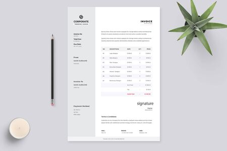 The exact resume to attract the interviewer the most Reklamní fotografie - 128948873