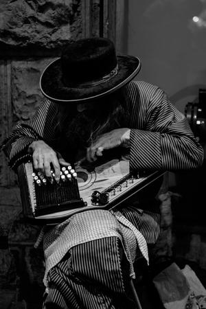 weird: With Haredi weird instrument