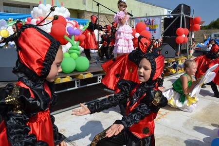 tot: scenes from tots parade-festival that took place in Ukrainian Kherson on Sunday September 17th as part of celebrating the Day of Town foundation Editorial