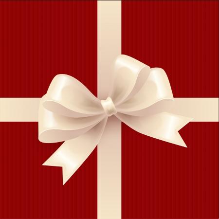 Gift bow  Vector illustration  Illustration