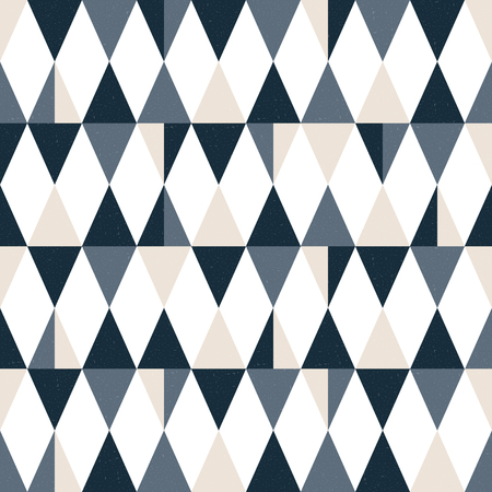 Seamless  modern triangle pattern. Geometric wallpaper. Vector background. Ilustrace