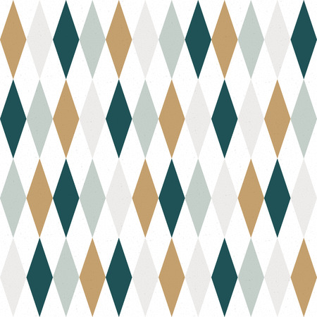 Abstract seamless geometric pattern. Template. Retro vector wallpaper.
