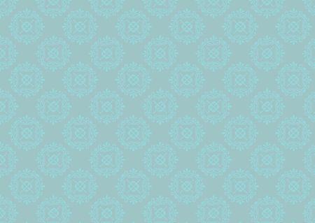 Damask seamless retro wallpape pattern photo