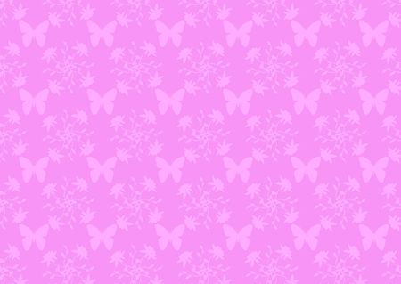 Pink damask wallpape pattern photo