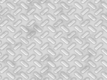 grunge diamond metal background  Stock Photo - 8290386