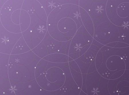 Violet christmas winter abstract background Stock Photo