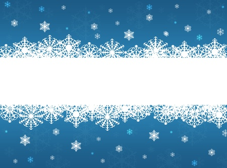 Blue Christmas, New Year background