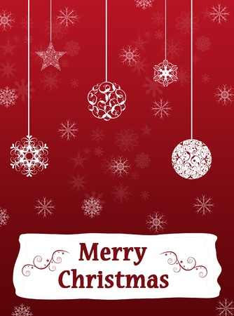 red Christmas, New Year background Stock Photo