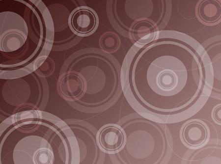 茶色の抽象的な背景の円に