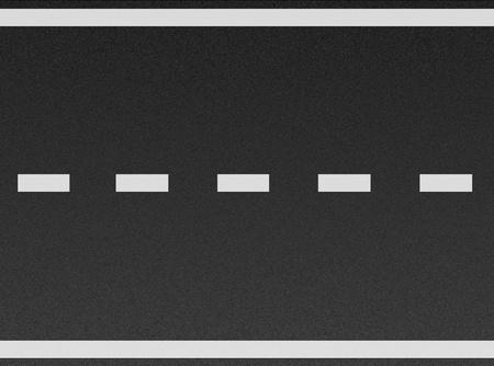 tarmac: white lines on asphalt texture  Stock Photo