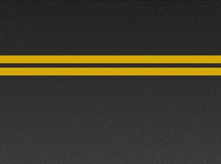 Double yellow lines on asphalt texture Stock Photo - 8433082