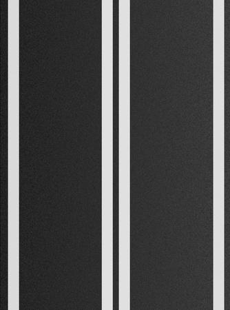 double lane: Double white lines on asphalt texture